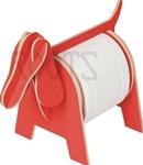 Dog - 3D puzzle tissue holder