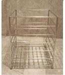 cube stainless steel towel basket