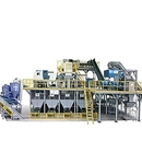 Automatic mixed waste plastics sorting machine