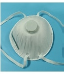 Masks disposable respirator with valve