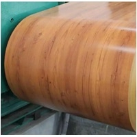wooden color PPGI / galvanized steel coil
