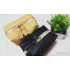 Handmade Leather Pouch with tassel