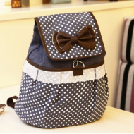 Canvas Backpack School Bag ...