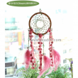Dream catcher(Lucky Dream-catcher DIY set) - Olive pink