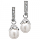 Shoshanna's Pearl Drop Earrings - Final Sale