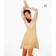 Casual Wear Cream Colored Georgette With Santoon Lining Kurti