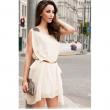 Chiffon ONeck Sleeveless Dress