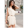 Chiffon ONeck Sleeveless Dress