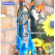 Dream catcher(Lucky Dream-catcher DIY set) - Blue